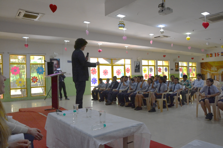 Sustainable and healthy food choices: inspiring debate with school children in India